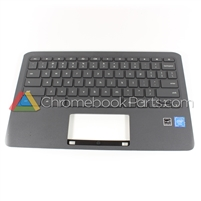 HP 11 G6 EE Chromebook Palmrest Assembly w/ Keyboard Only - L14921-001