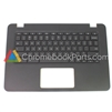 Lenovo 14 N42 Chromebook Palmrest Assembly w/ Keyboard Only - 5CB0L85364