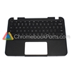 Lenovo 11 N21 Chromebook Palmrest Assembly w/ Keyboard Only - 37NL6TC0040