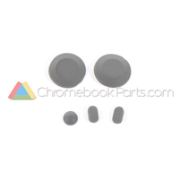 HP 14 SMB Chromebook Rubber Kit, Black
