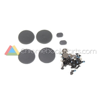HP 11 V-Series Chromebook Screw and Rubber Kit - 900805-001