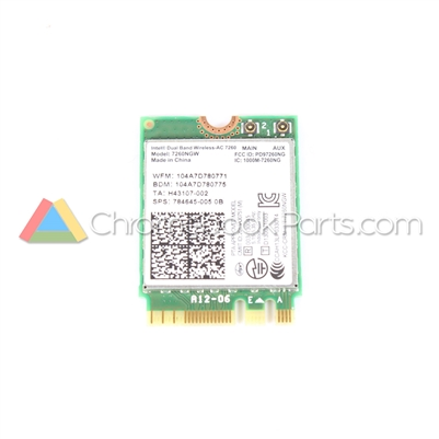 Toshiba 13 CB30-B3122 Chromebook WiFi Card - PA5125U-1MPC