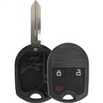 New Just the Case Keyless Entry Remote Control Car Key Fob Shell Replacement for CWTWB1U793 3BTN