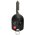 New Keyless Entry Remote Control Car Key Fob Replacement for OUCD6000022 3BTN