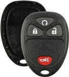 Keyless Remote Key Fob Clicker -  GM/L 15114374 , shell, case , pad