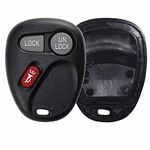 New Just the Case Keyless Entry Remote Control Car Key Fob Shell Replacement for 15042968