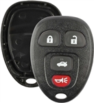 New Just the Case Keyless Entry Remote Control Car Key Fob Shell Replacement for 15252034