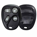 New Keyless Entry Remote Replacement Shell and Button Pad (with power gas door)