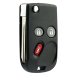New Flip Keyless Entry Remote Control Car Key Fob Replacement for LHJ011