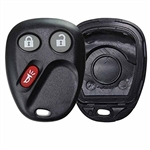 New GM Keyless Entry Remote Key Fob LHJ011 shell case button pad