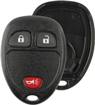 New Just the Case Keyless Entry Remote Control Car Key Fob Shell Replacement for 15913420