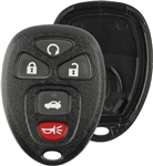 New Just the Case Keyless Entry Remote Control Car Key Fob Shell Replacement for 15912860