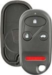 New Just the Case Keyless Entry Remote Control Car Key Fob Shell Replacement for KOBUTAH2T