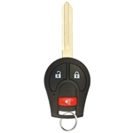 new nissan ignition key keyless remote