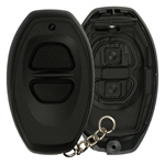 New Just the Case Keyless Entry Remote Control Key Fob Shell Replacement for RS3000, BAB237131-022 Black