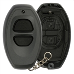 New Just the Case Keyless Entry Remote Control Key Fob Shell Replacement for RS3000, BAB237131-022 Grey