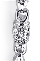 Juba Gye Nyame Link Chain in sterling silver