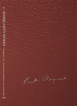 Vol X - Marquart's Works - Person/21st Century Formula of Concord