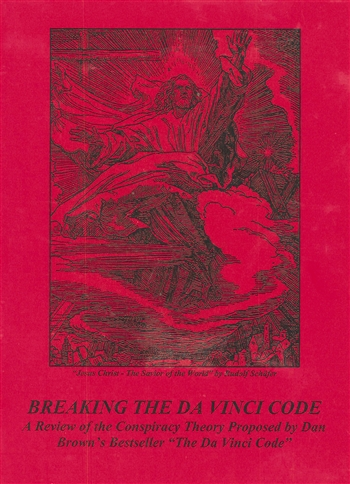 Breaking the Da Vinci Code, L. White;  A review of the conspiracy Theory Proposed by Dan Brown's Bestseller The DaVinci Code.  Dr. Laurence White takes a Biblical perspective to the many questions that Brown raises.