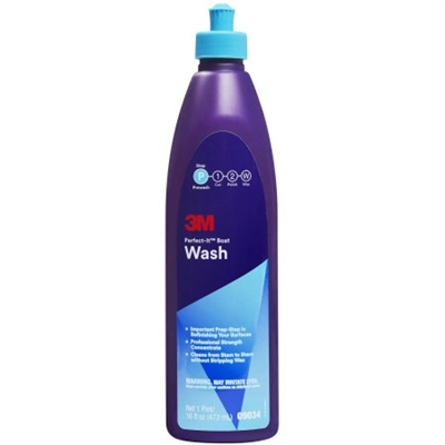 3M, PERFECT-IT BOAT WASH, 1 PINT