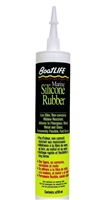 SEALANT, SILICONE RUBBER, BLACK, 10.6 OZ