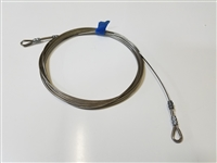 STAY, BACKSTAY WIRE ONLY FOR BACKSTAY TENSIONER