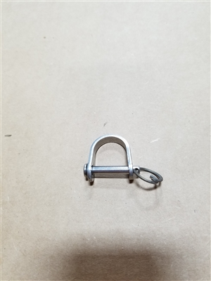 SHACKLE, BLOCK REPLACEMENT W/ PIN
