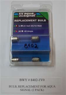 BULB, REPLACEMENT, AQUA SIGNAL, SERIES 25, EACH