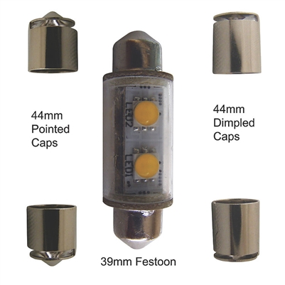 NAVIGATION LIGHT, LED BULB. SERIES 25, EACH