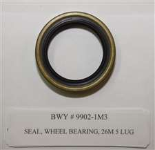 SEAL, WHEEL BEARING, 26M 5 LUG