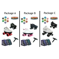 Low Boots Indoor Outdoor Skate Package