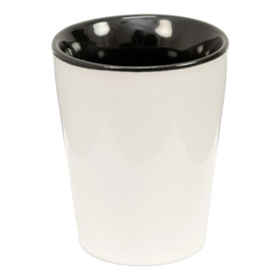 Two Tone Ceramic Sublimation Shot Glass