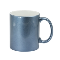 11 oz. Sparkle Mug - Light Blue