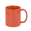 11 oz. Full Color Mug - Orange