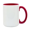 15 oz. Inner/Handle Red Orca Mugs
