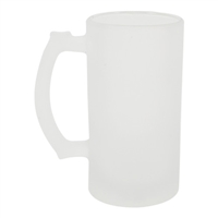 Frosted Glass Stein - 16oz