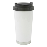 White 16 oz Thermos