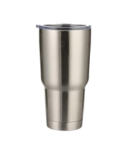 30 oz. Orca Stainless Steel Travel Tumbler - Silver