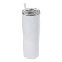 20 oz. Orca Stainless Steel Skinny Tumbler with Lid and Straw