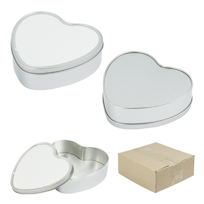 Metal Tin - Candy Box - Heart