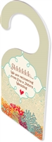 "DOOR HANGER 2 SIDED  - 4"" x 9""  - 0.09""Thickness"