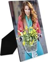 "Rectangle photo panel with easel - 8"" x 10"" - 0.25""Thickness"
