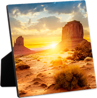 "Unisub Desktop Photo Panel with Easel - 6"" x 6"""