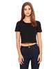 Women's Poly-Cotton Crop T-Shirt