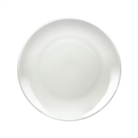 "White Ceramic Sublimation Plate - 8"" Orca"