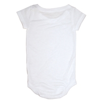 Vapor Apparel Baby One Piece White 100% Polyester
