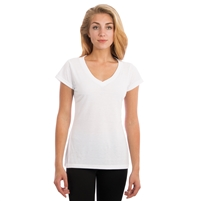 Vapor Apparel Ladies Fashion Fit V-Neck