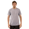 Vapor Apparel Polyester Sublimation T-Shirt Ash