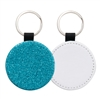 Fashion Sparkle Keychain - Blue Circle (PU)