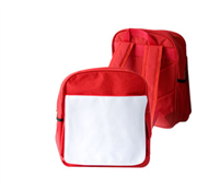 Kids School Bag - Red